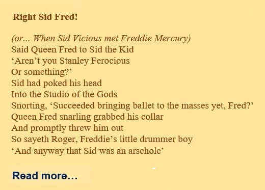 Right Sid Fred!